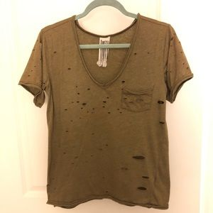 Destroyed free People T-shirt